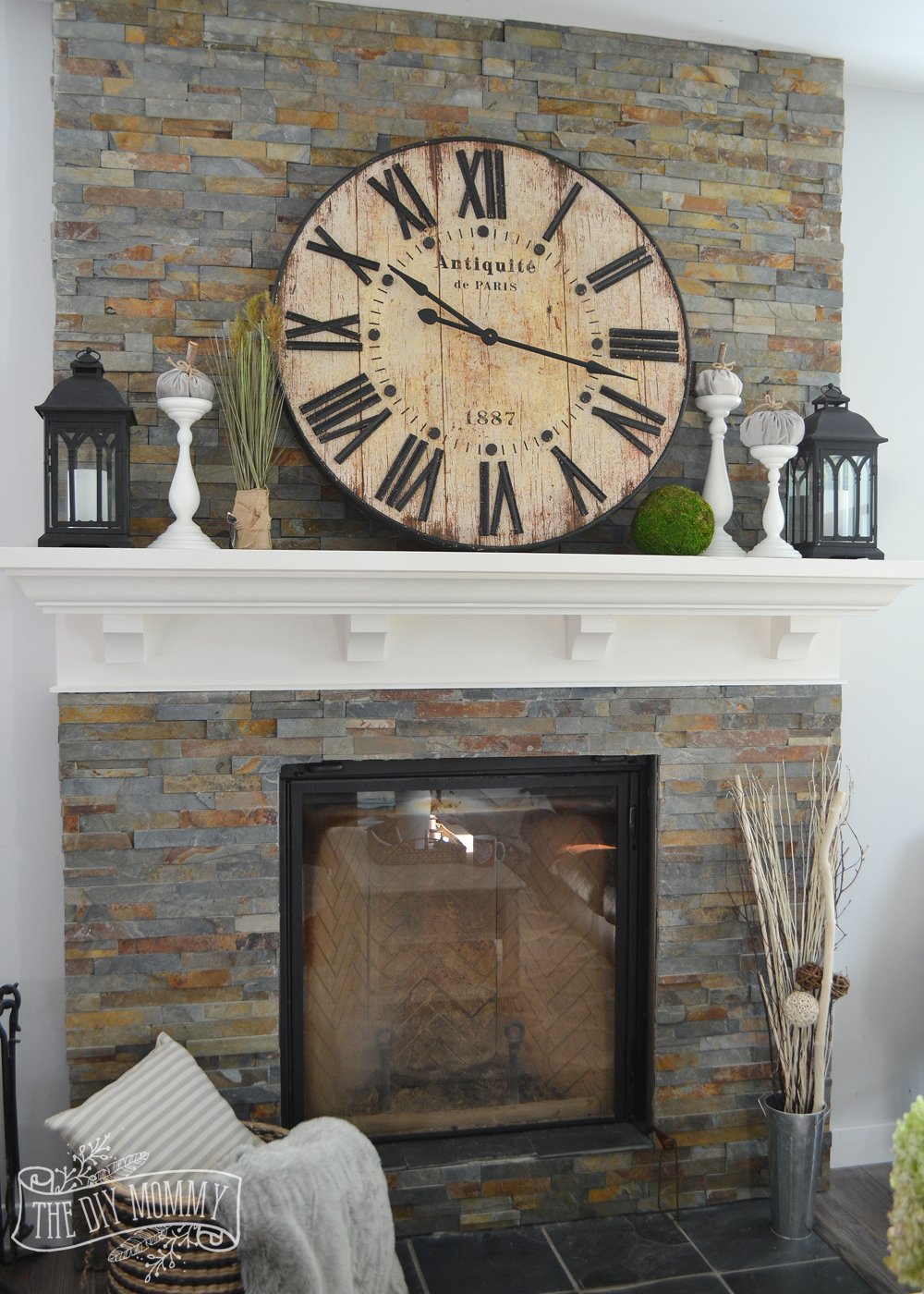 14 Glorious Rustic Mantel Decor Ideas You Ll Fall Head