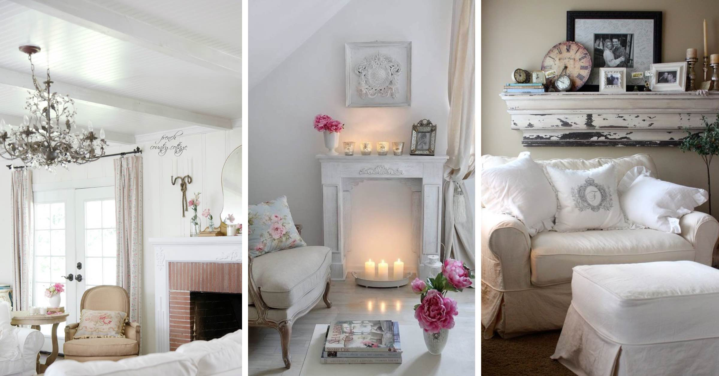 19 Shabby Chic Living Room Ideas That Will Totally Melt Your