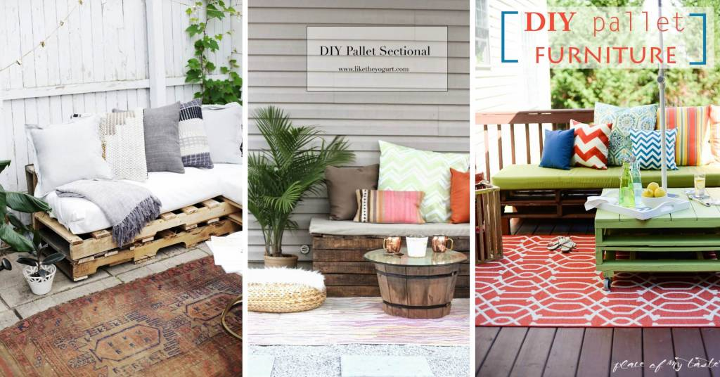 13 Uber Cool Outdoor Pallet Furniture Ideas
