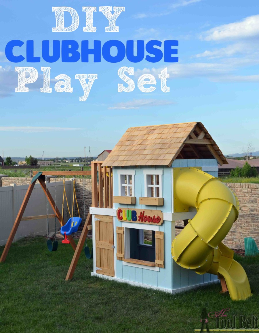 A Clubhouse Playset