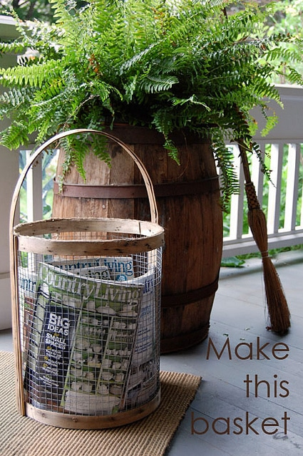 A Tisket, A Tasket, Make a Supercool Basket!