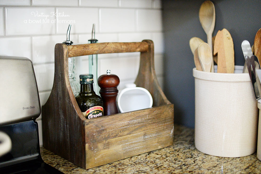 Adding Vintage Style to a Builders Grade Kitchen