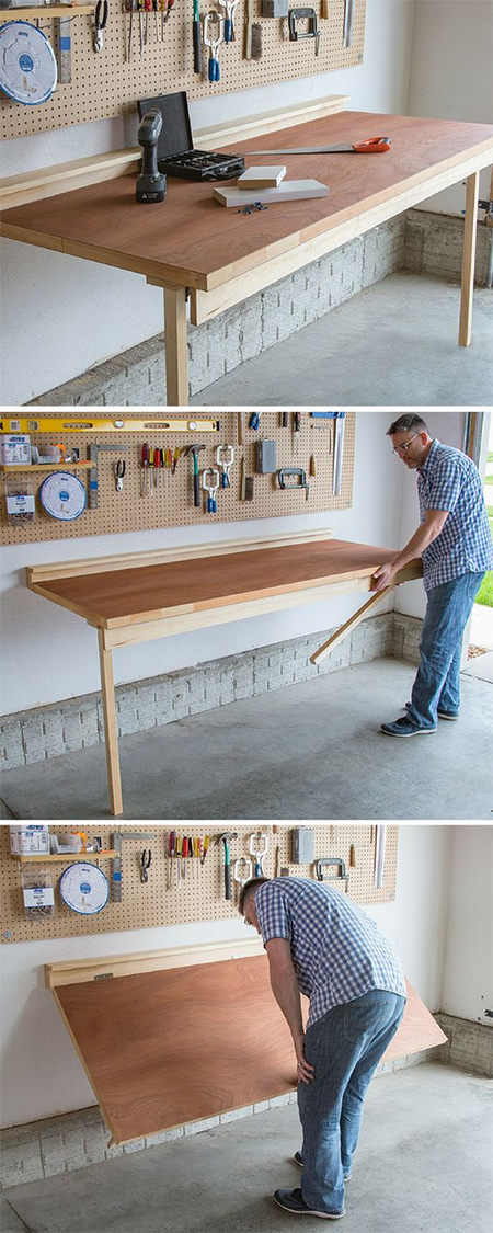DIY Folding Bench