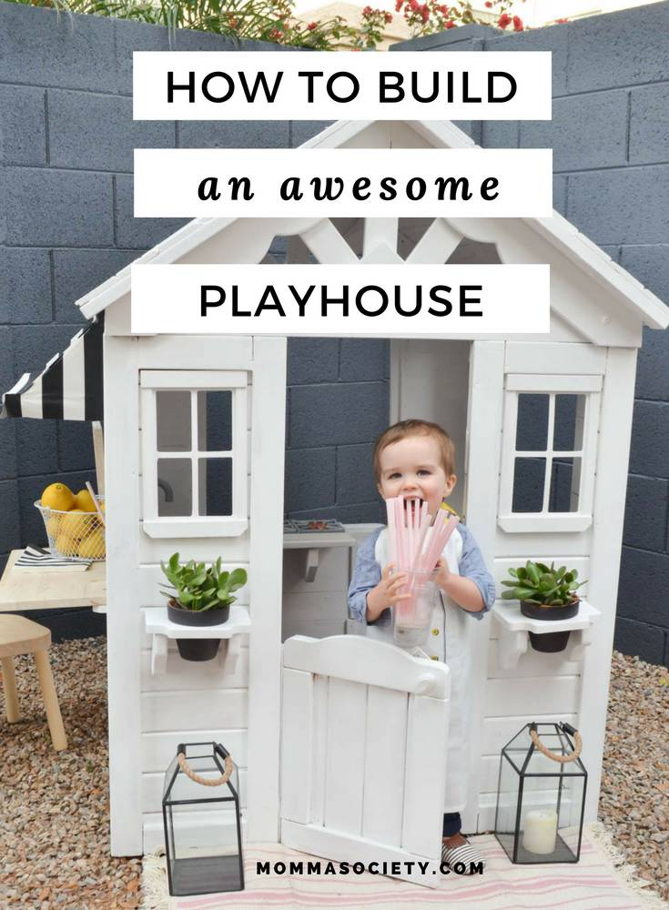 Drab to Fab Playhouse Renovation