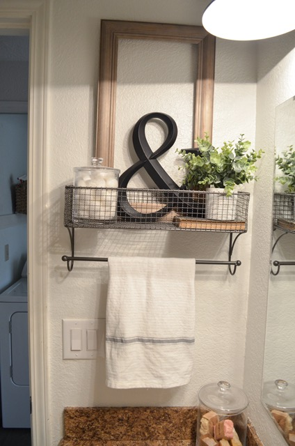 Small Bathroom Organization Wall