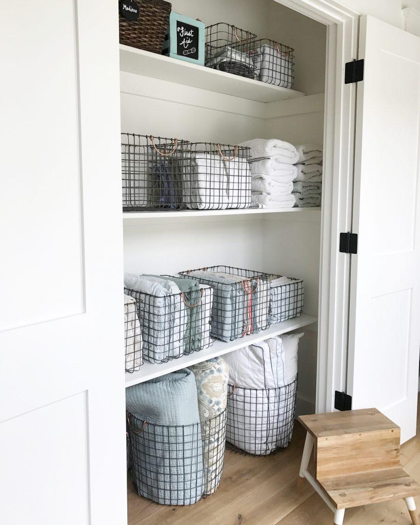 Most Beautiful Linen Closet