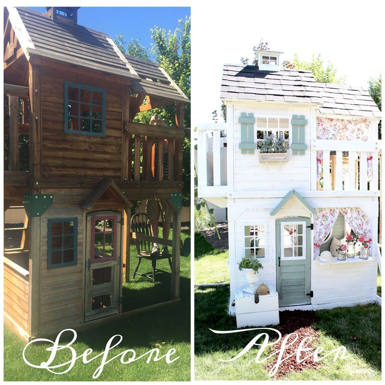 Playhouse Country Makeover