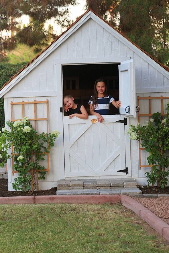 Rustic Cottage Inspired Playhouse