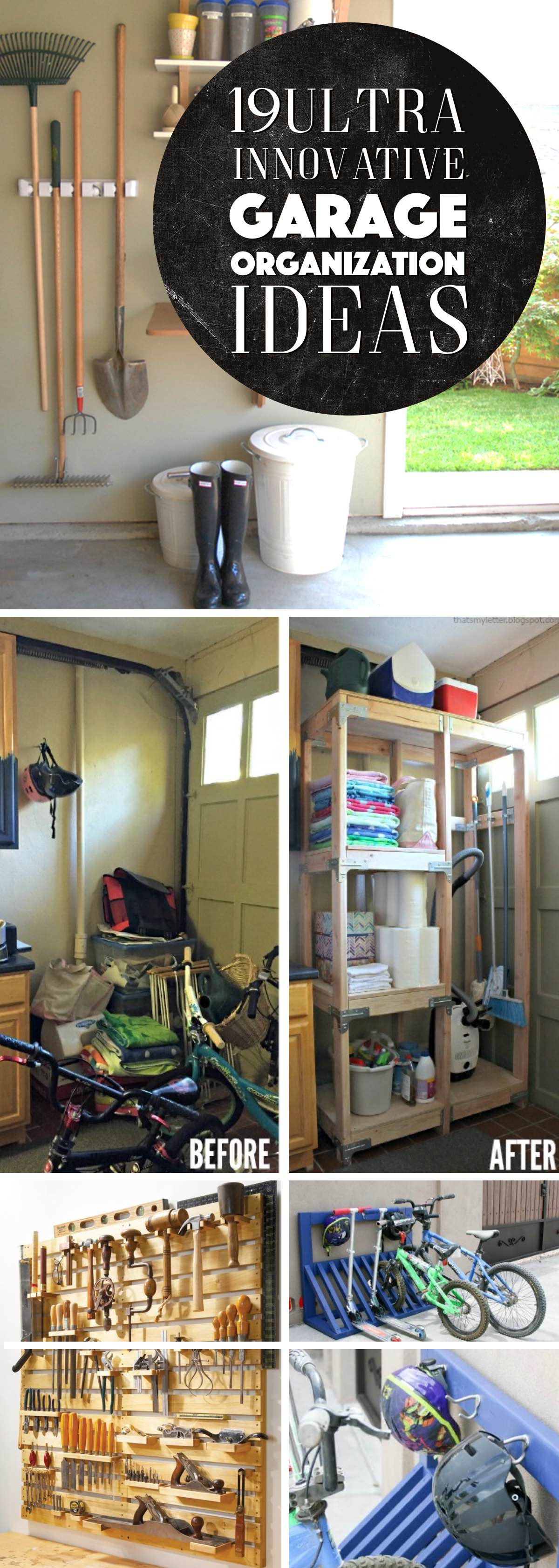Ultra Innovative Garage Organization Ideas