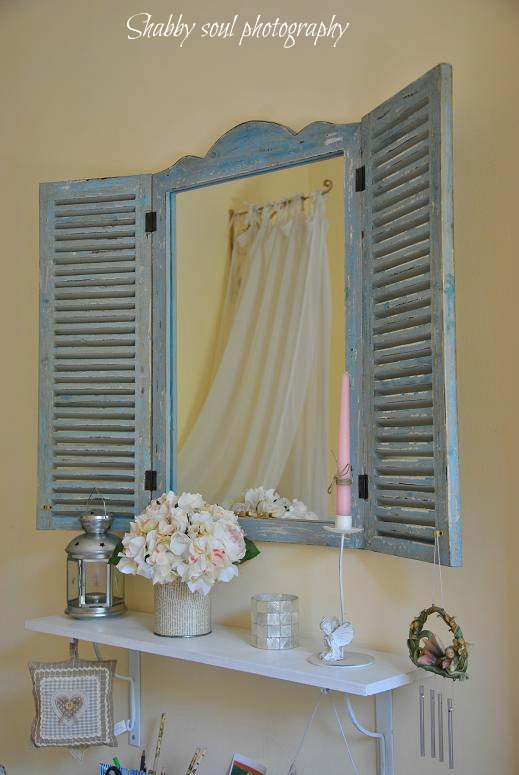 Window Shutter Replaces Table Runners