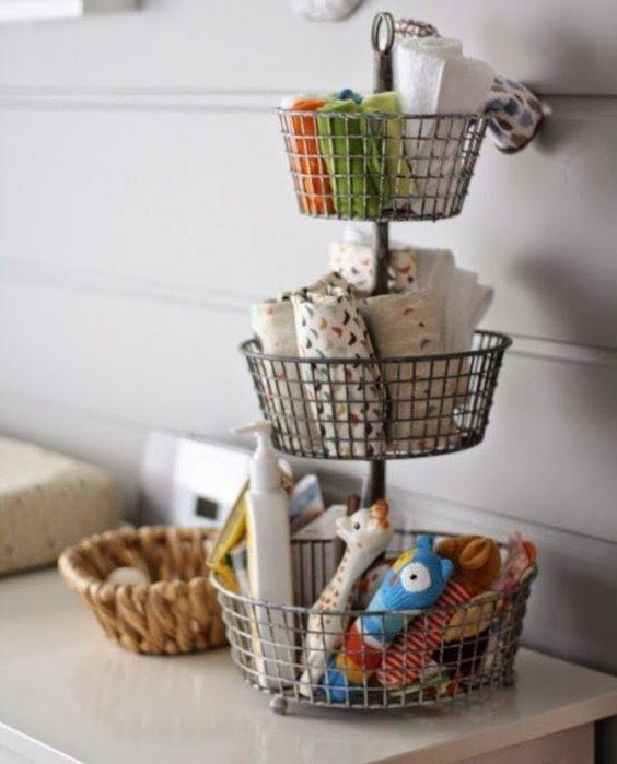 3-Tier Basket Storage Stand