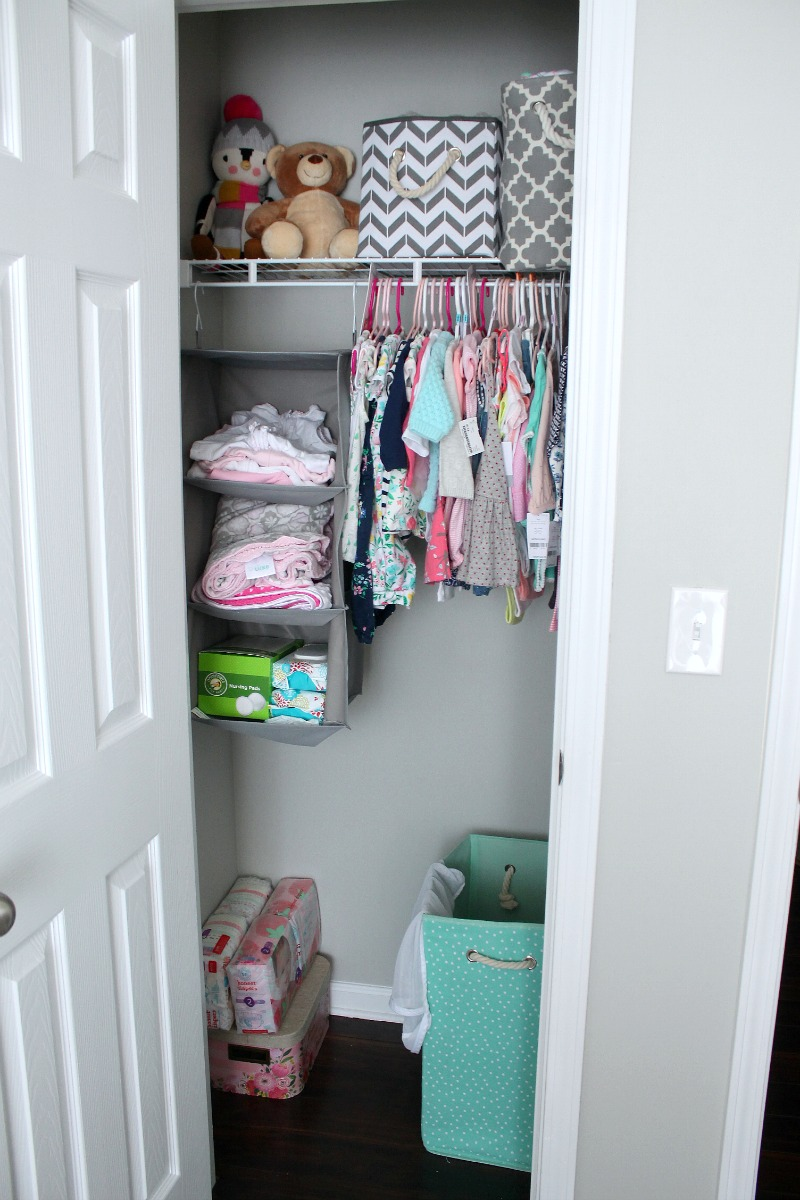 5 Tips to Organizing Baby's Room