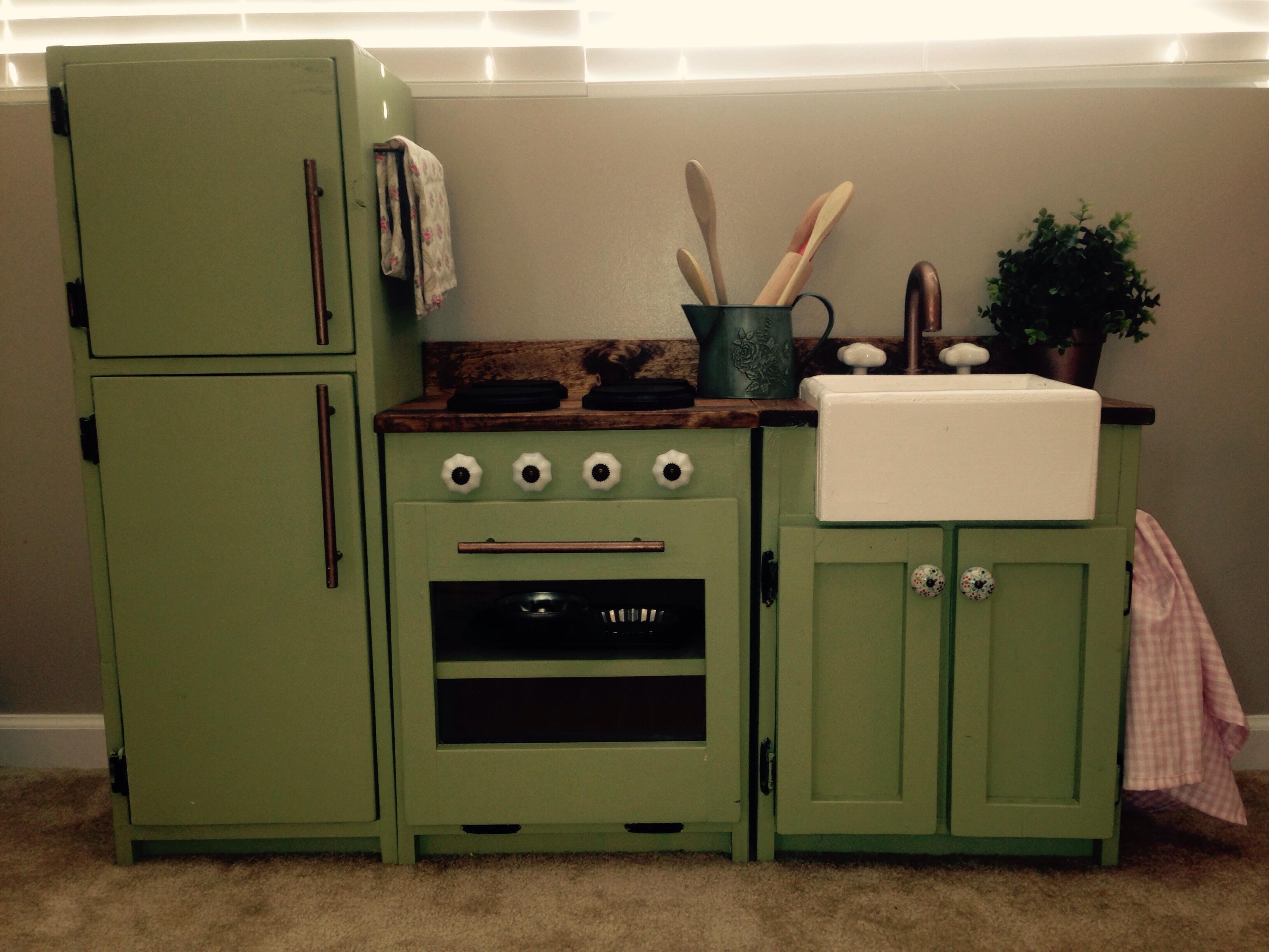 24 Diy Play Kitchen Ideas Making Miniature Pretties That