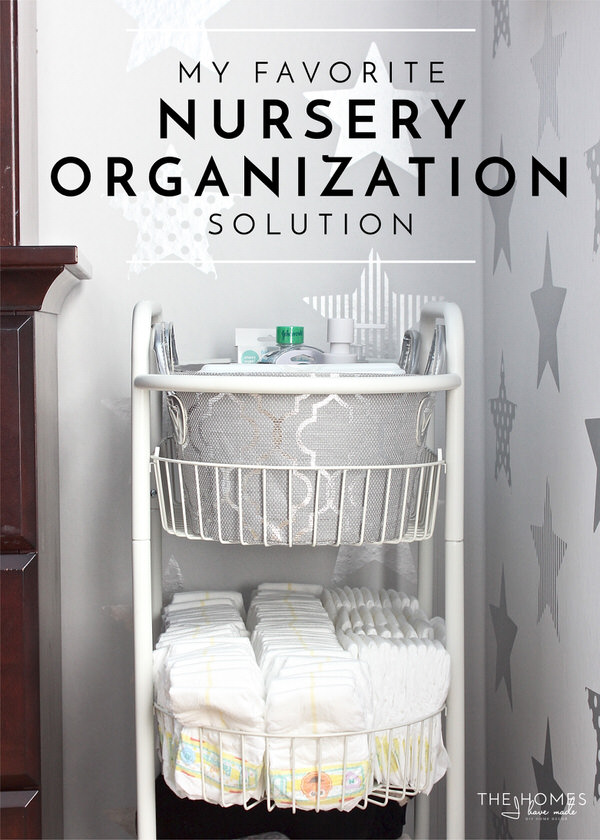 15 Creative Nursery Organizing Ideas Making The Baby Room