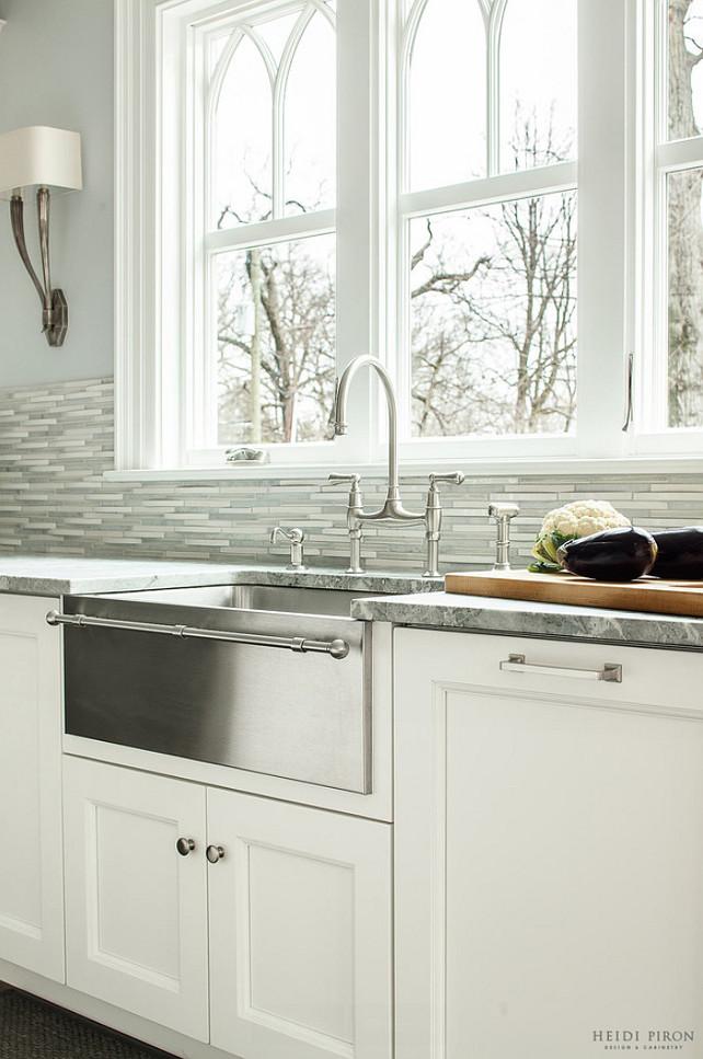 Classic Transitional White Kitchen