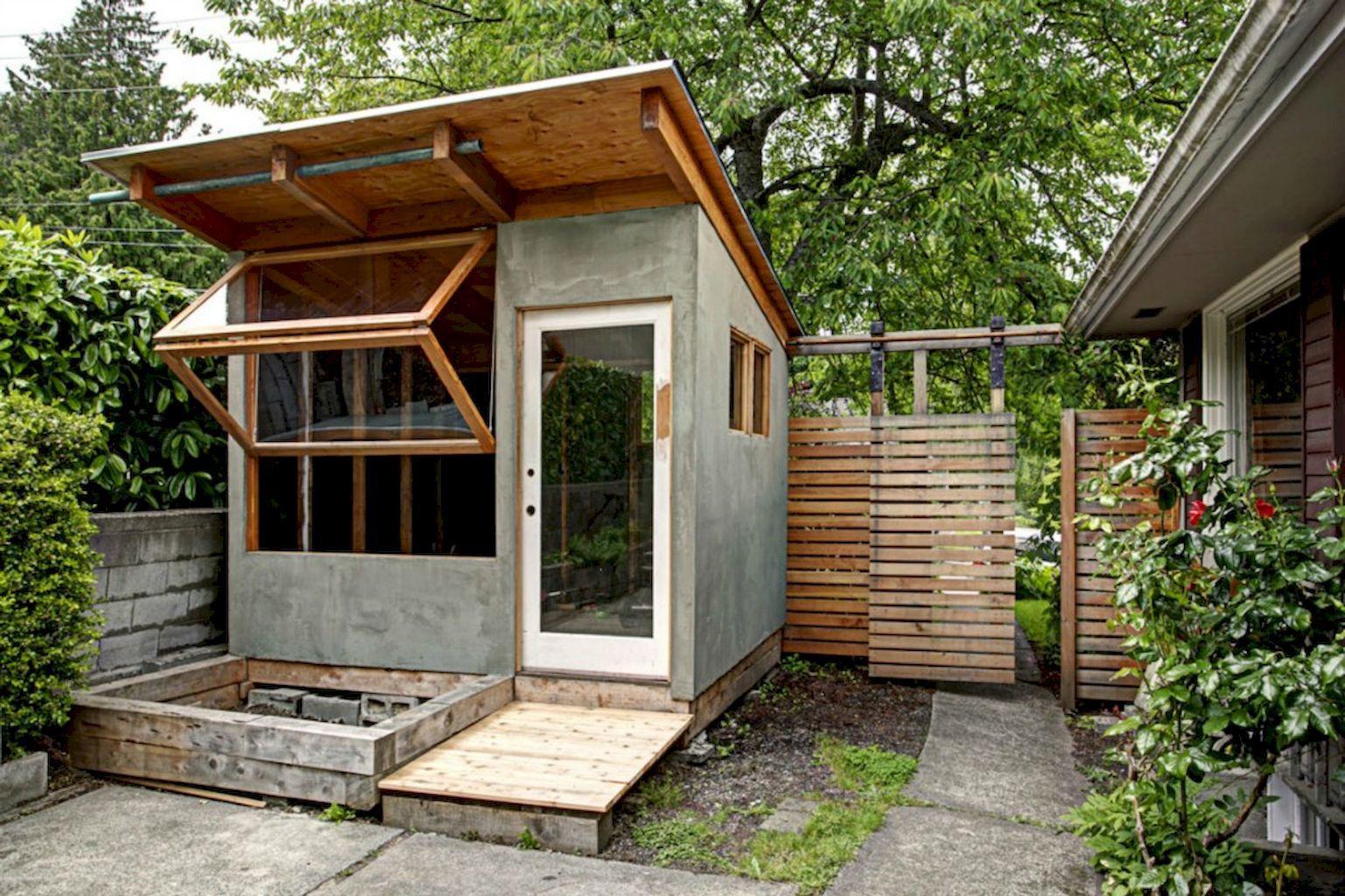 Contemporary Backyard Studio