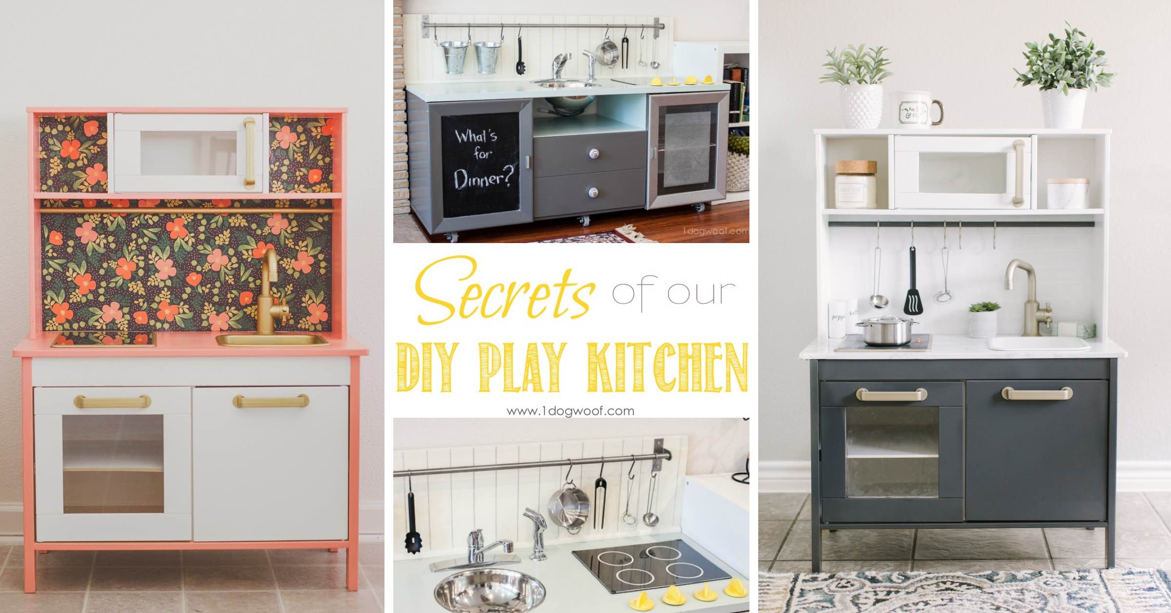 24 Diy Play Kitchen Ideas Making Miniature Pretties That