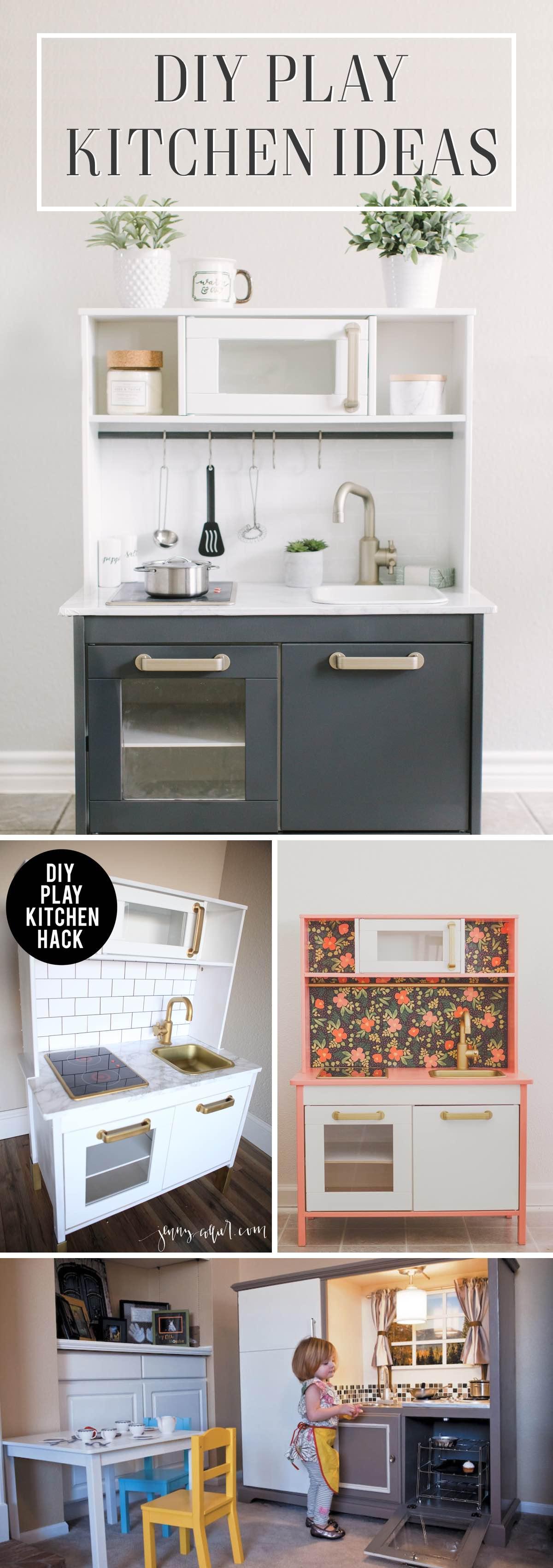 DIY Play Kitchen Ideas