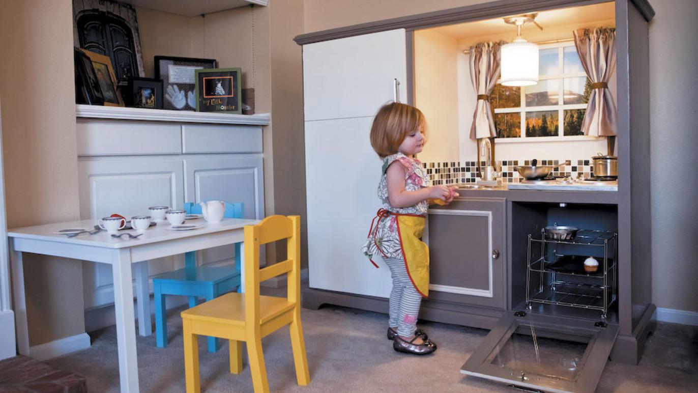 Elaborately Designed Play Kitchen