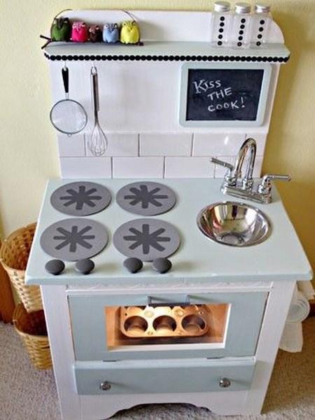 Make A Play Kitchen