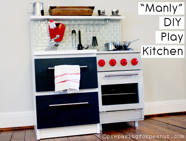 Manly DIY Play Kitchen