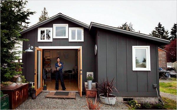 Miniature Backyard Studio