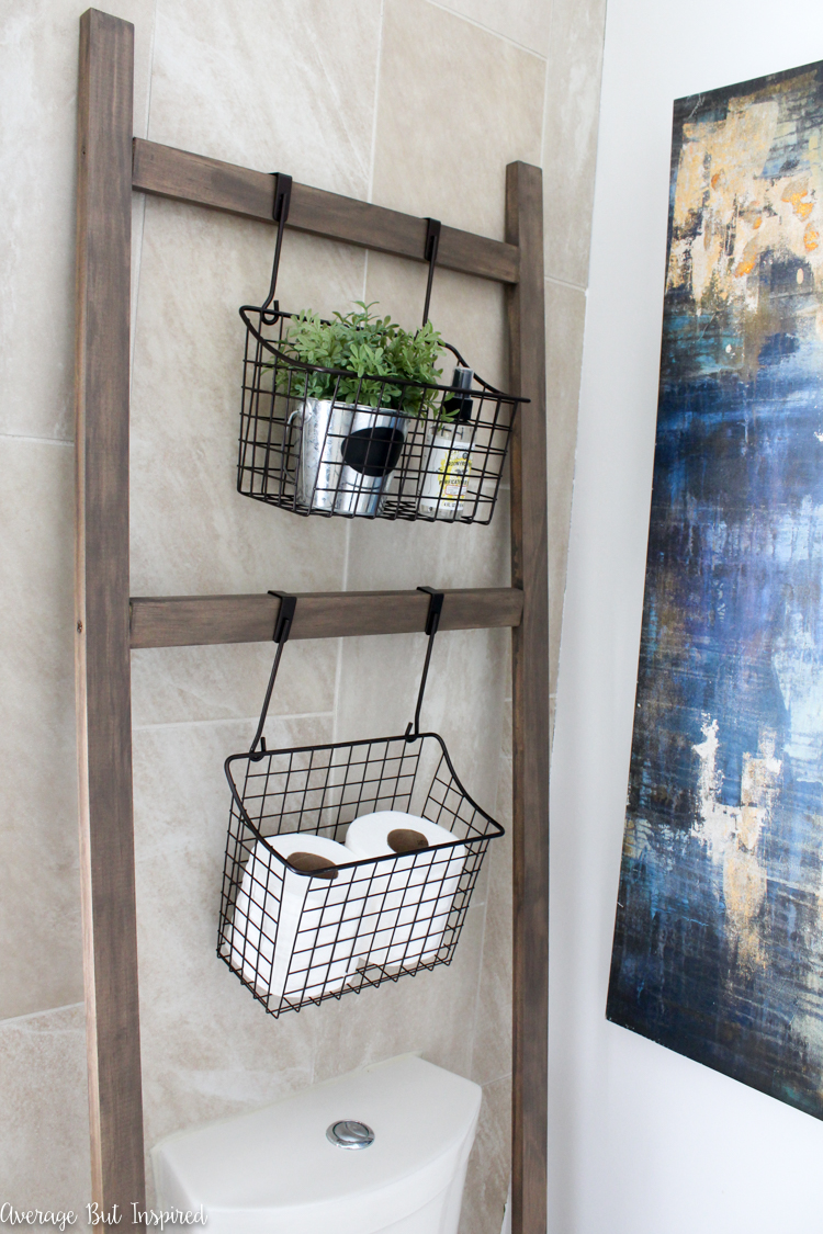 20 Hanging Bathroom Storage Ideas Making the Most of the ...
