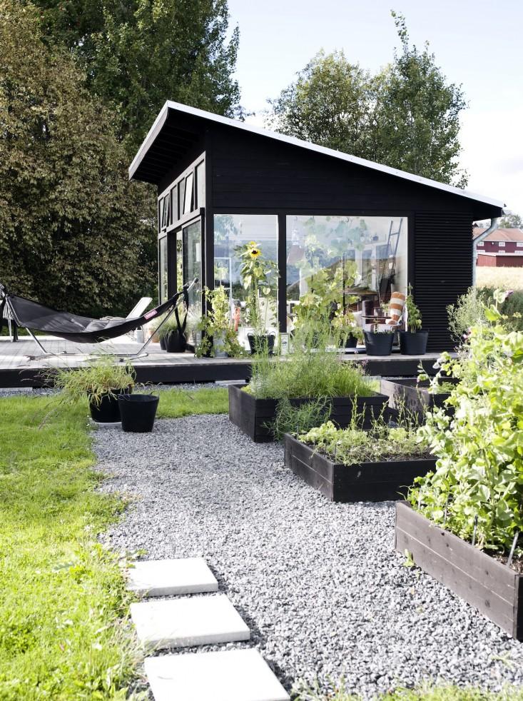 Scandinavian Style Backyard Studio