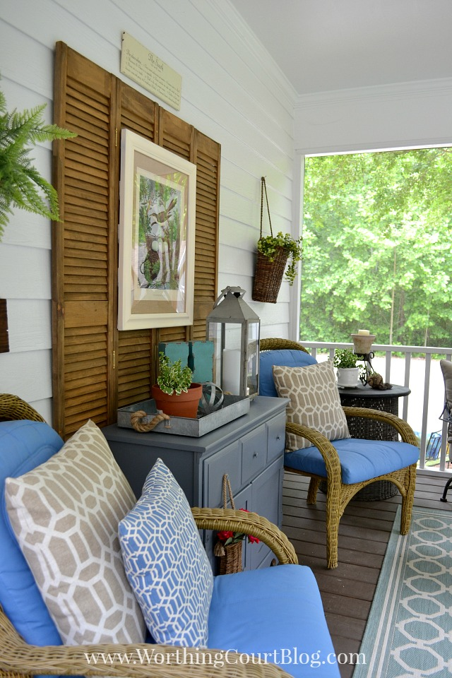 Southern Screen Porch