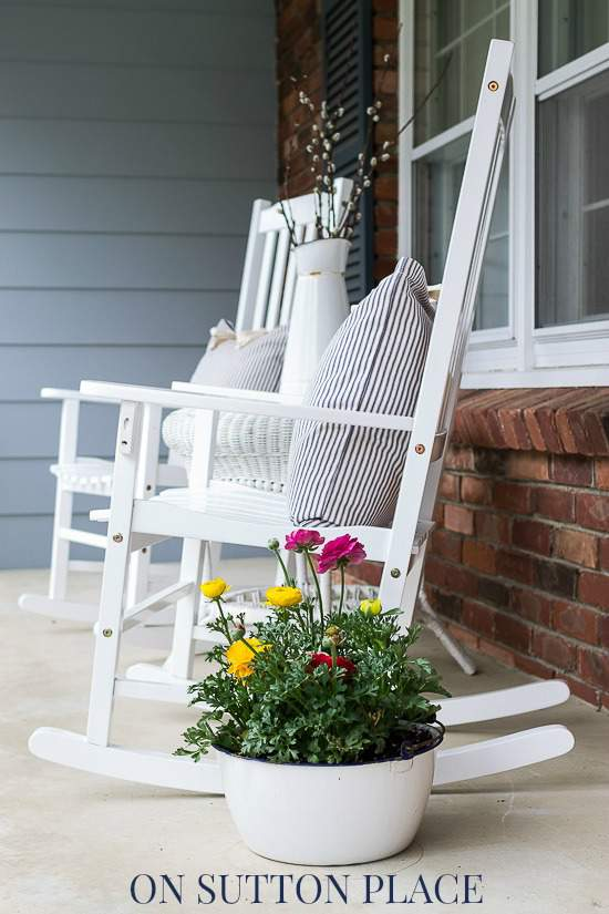 Spring Farmhouse Porch