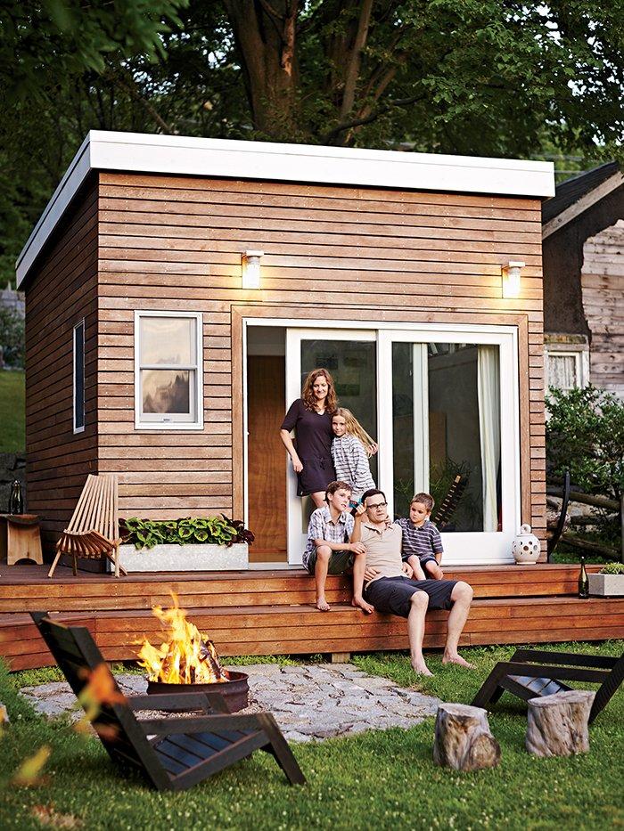 Tiny Budget Backyard Studio