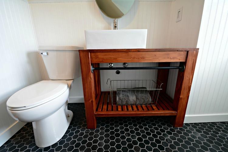 15. Modern Farmhouse Bathroom Vanity
