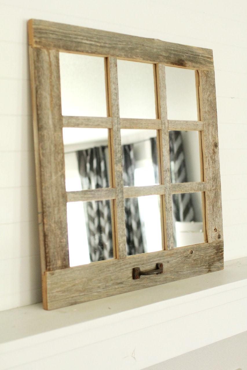 9 Window Pane Mirror