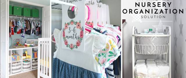 15 Oh So Creative Nursery Organizing Ideas Making the Baby Room Look Even More Beautiful!