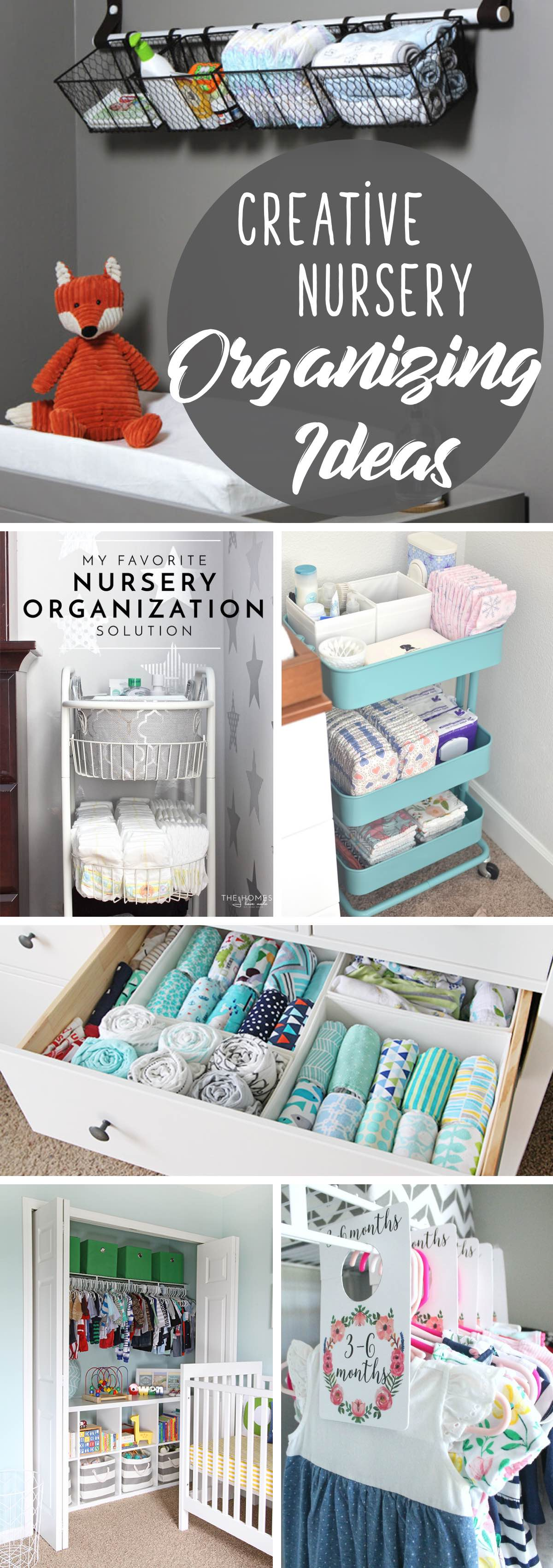 Nursery Organizing Ideas