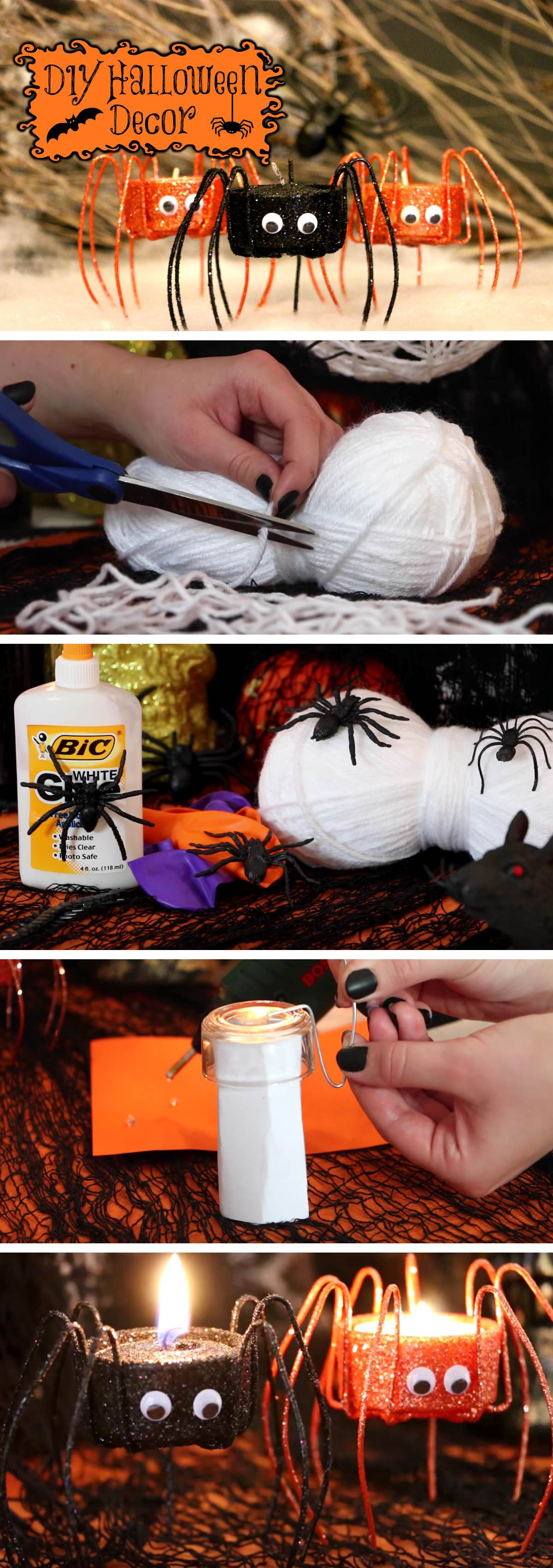 Super Affordable DIY Halloween Decorations