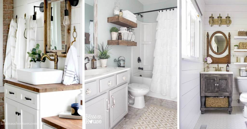 19 stylish farmhouse bathroom vanity ideas getting you all set for the day for Ultra bathroom vanities burbank