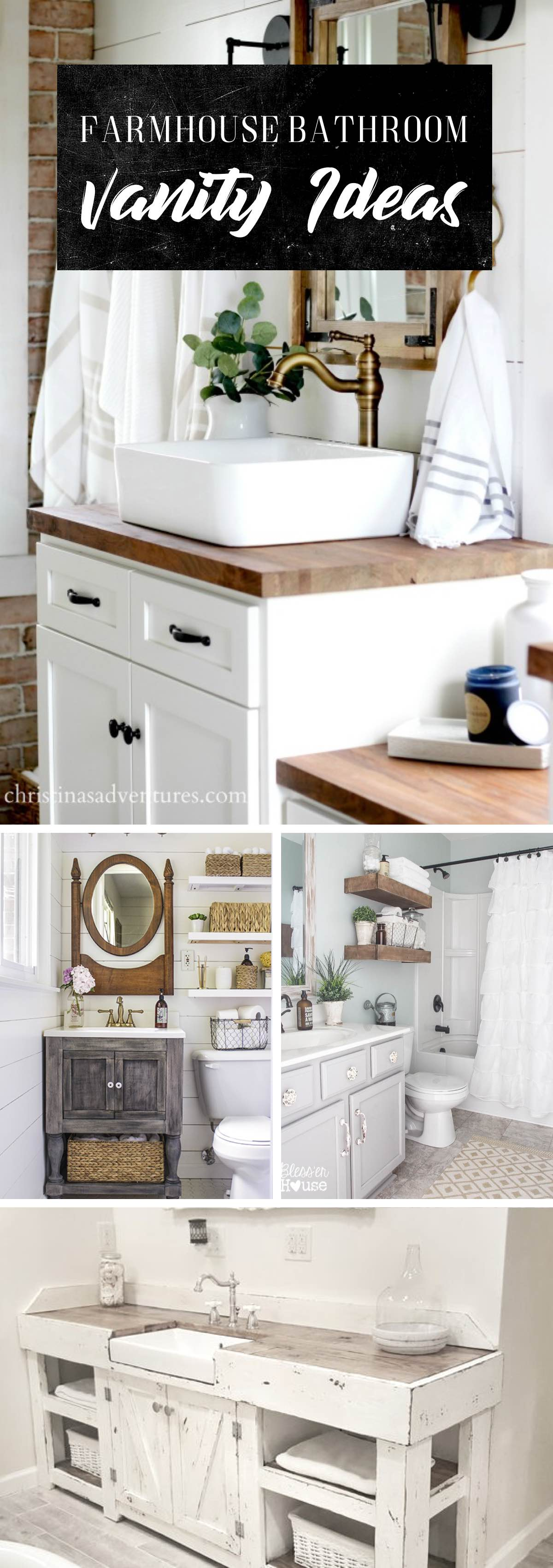 19 Stylish Farmhouse Bathroom Vanity Ideas Getting You All Set For The Day