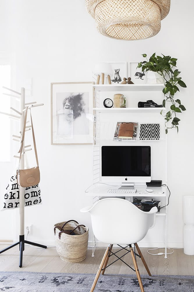 A White and Natural Office