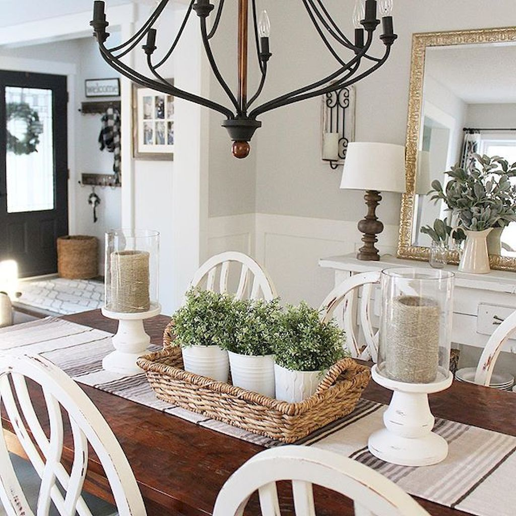 Add Candle Holders and Rustic Furniture