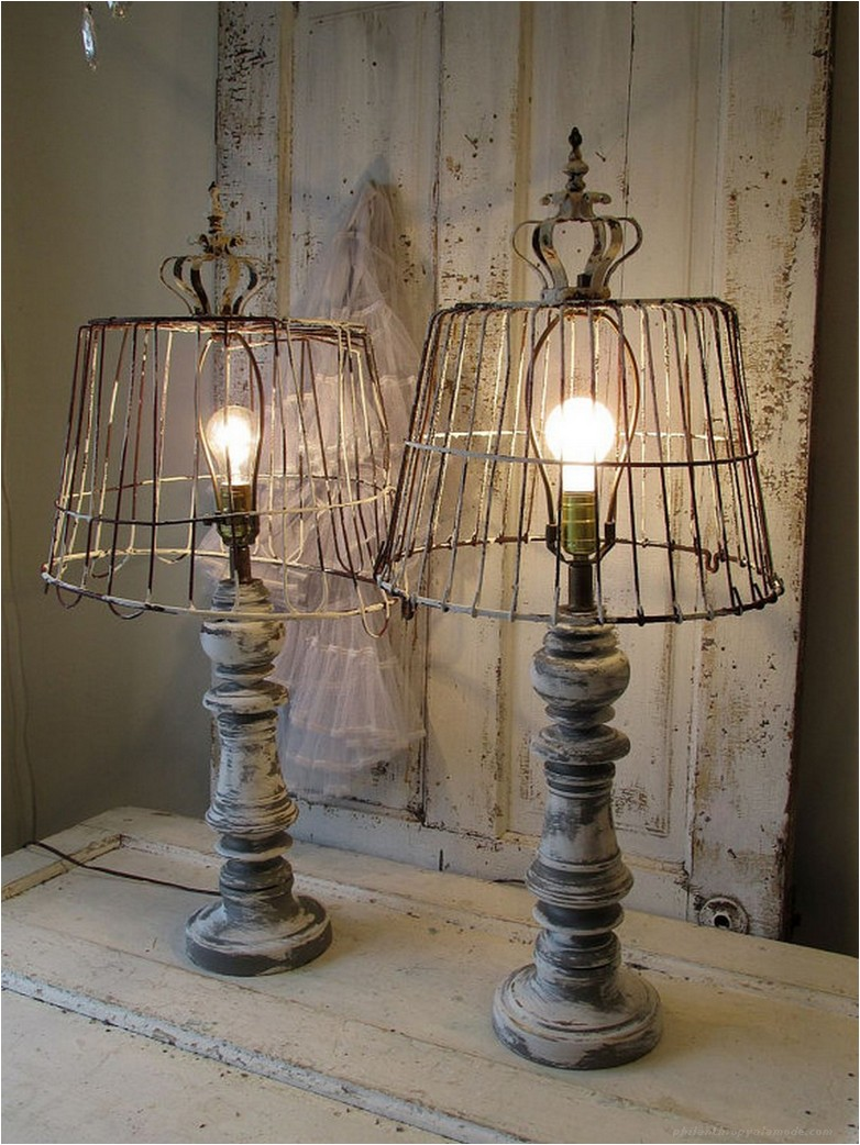 Bed Posts to Vintage Light Lamps