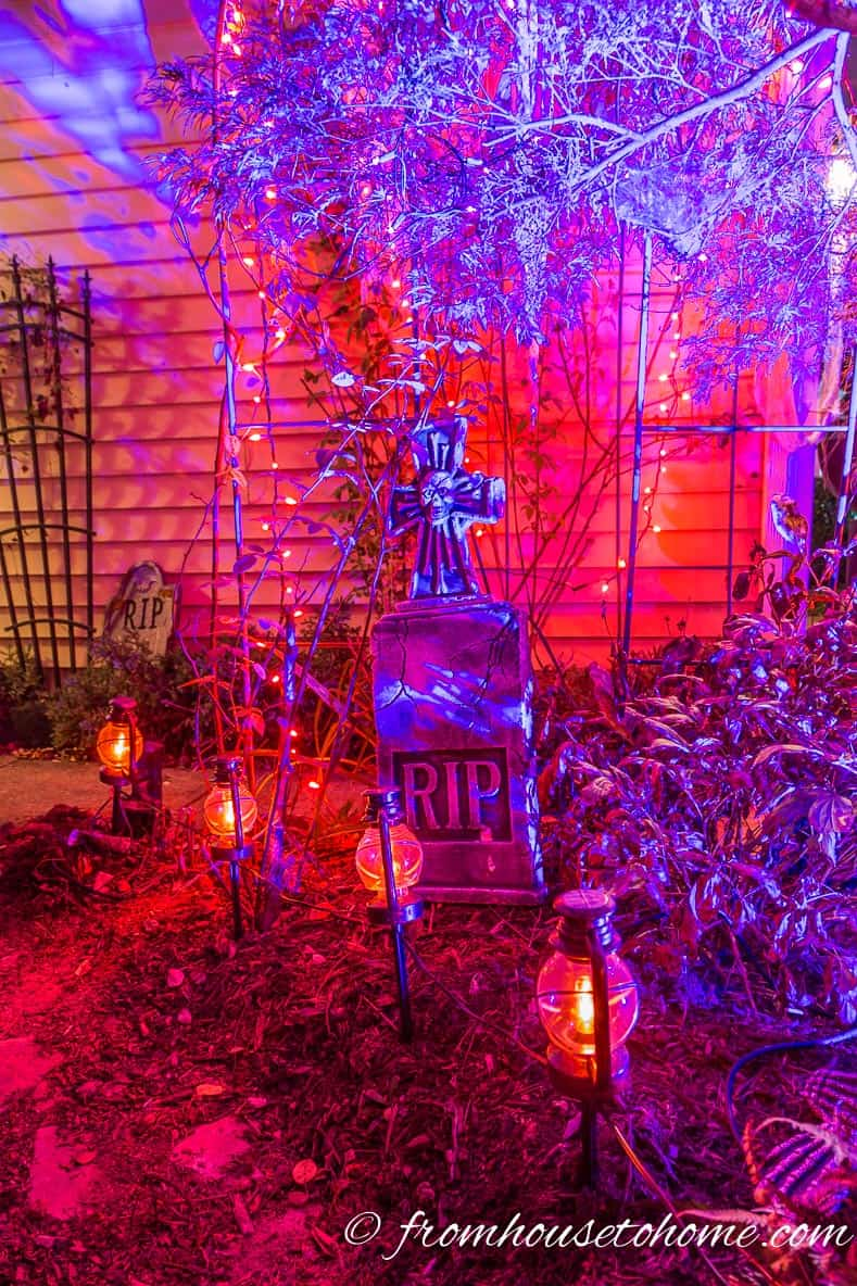 Choosing the Right Colors for Halloween Lighting in your Backyard