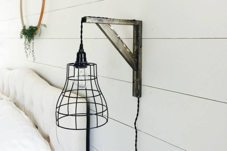 DIY Industrial Farmhouse Pendant Lights