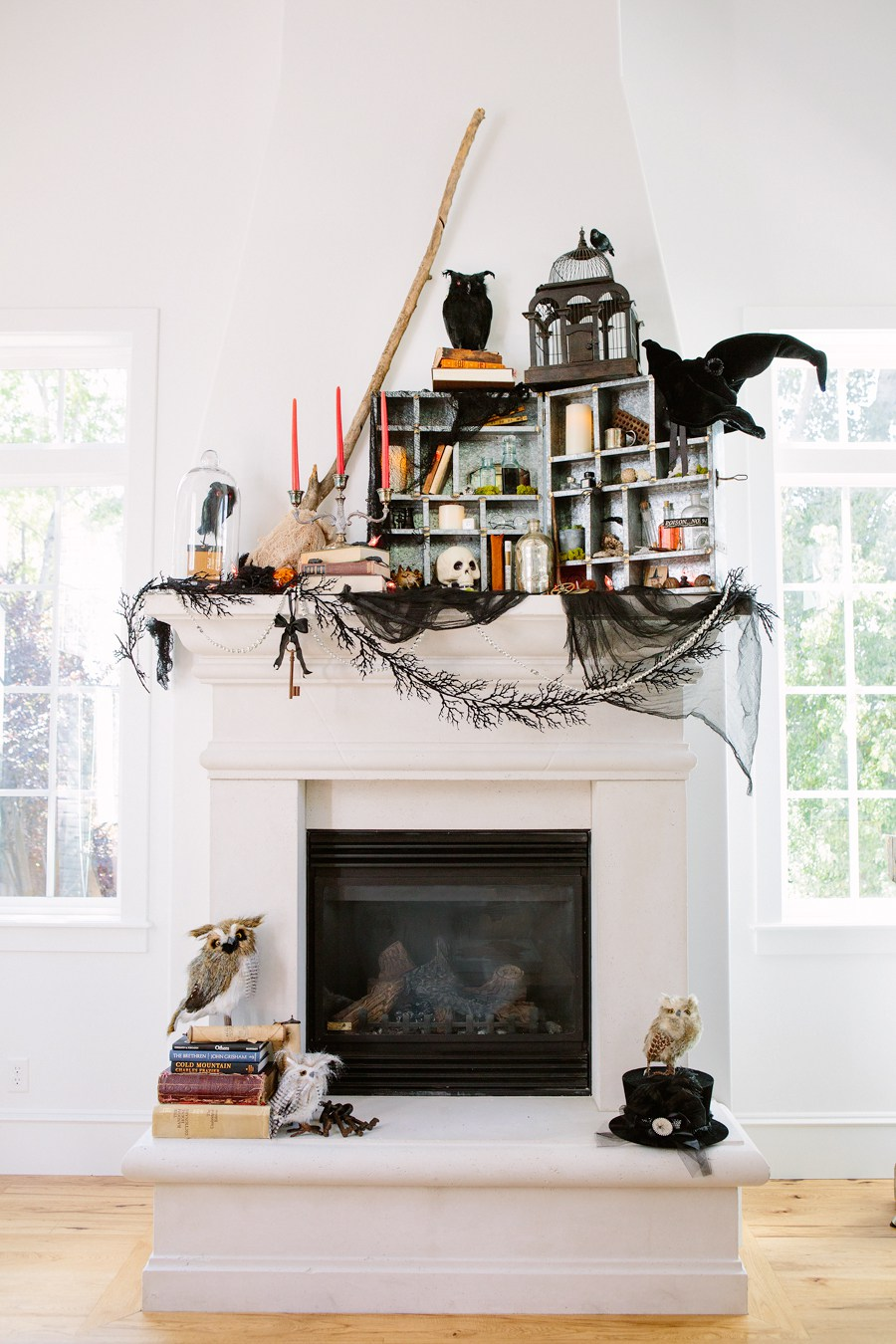 Decorating Your Mantel For Halloween