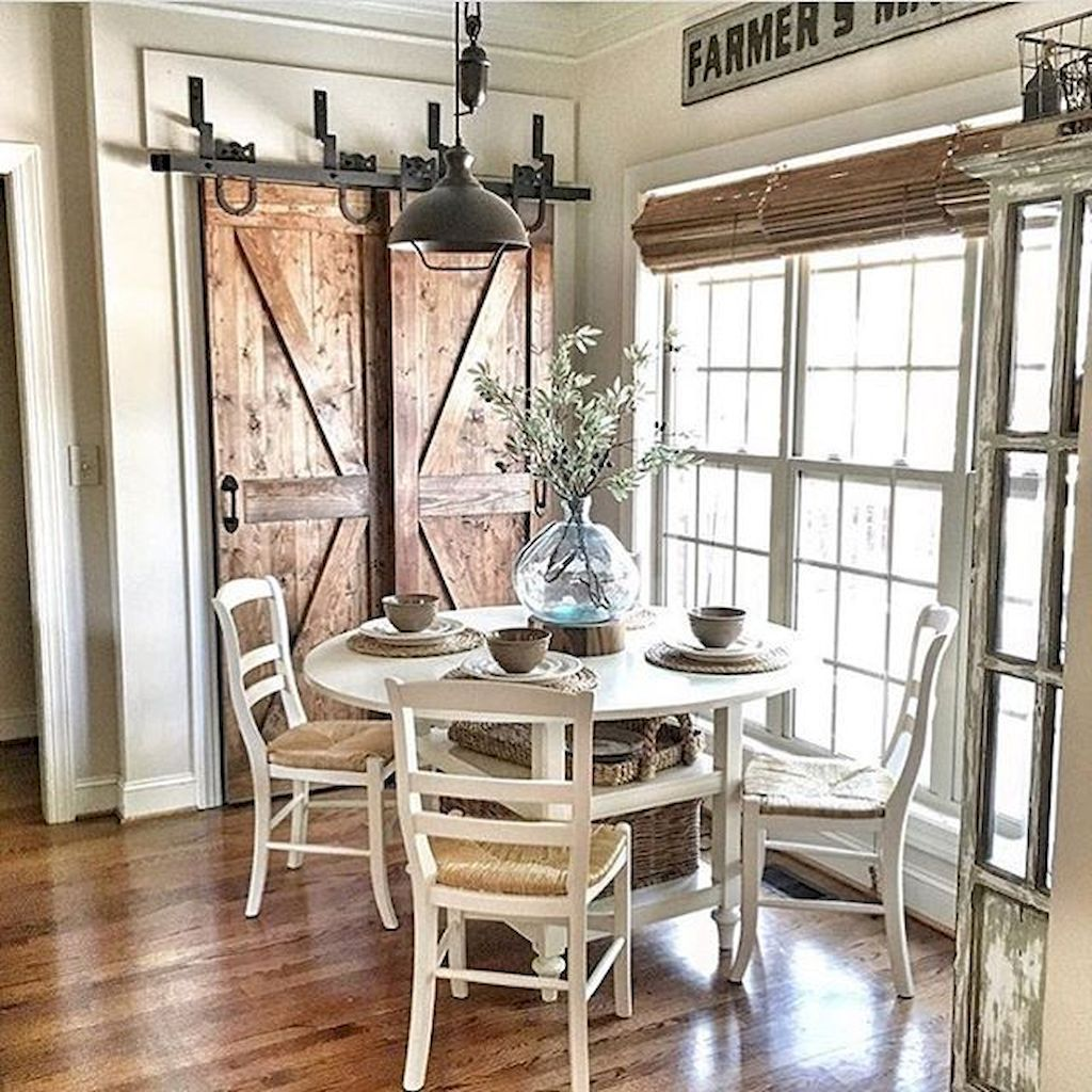 Dining Room Doors: 20 Farmhouse Style Dining Room Ideas You'll Want To