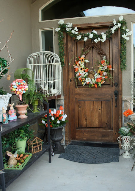 Fairytale Easter Porch Decor