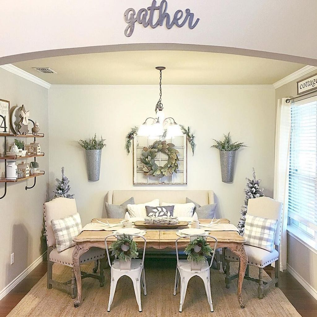 Gather Sign and Pretty Wreaths