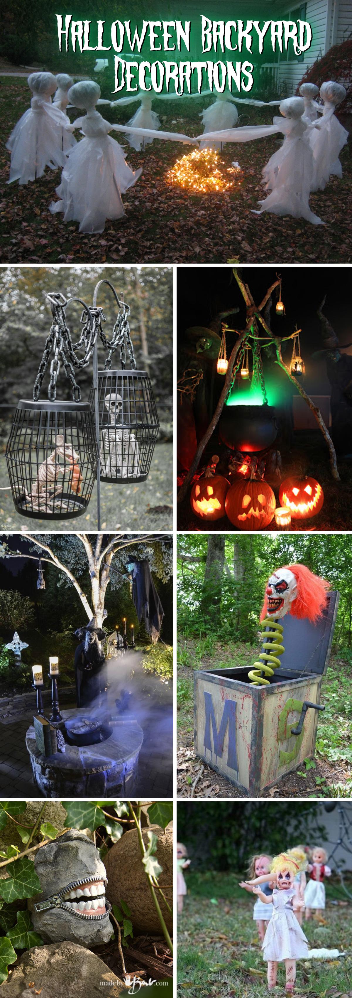Halloween Backyard Decorations