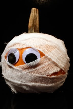Halloween Mummy Pumpkin