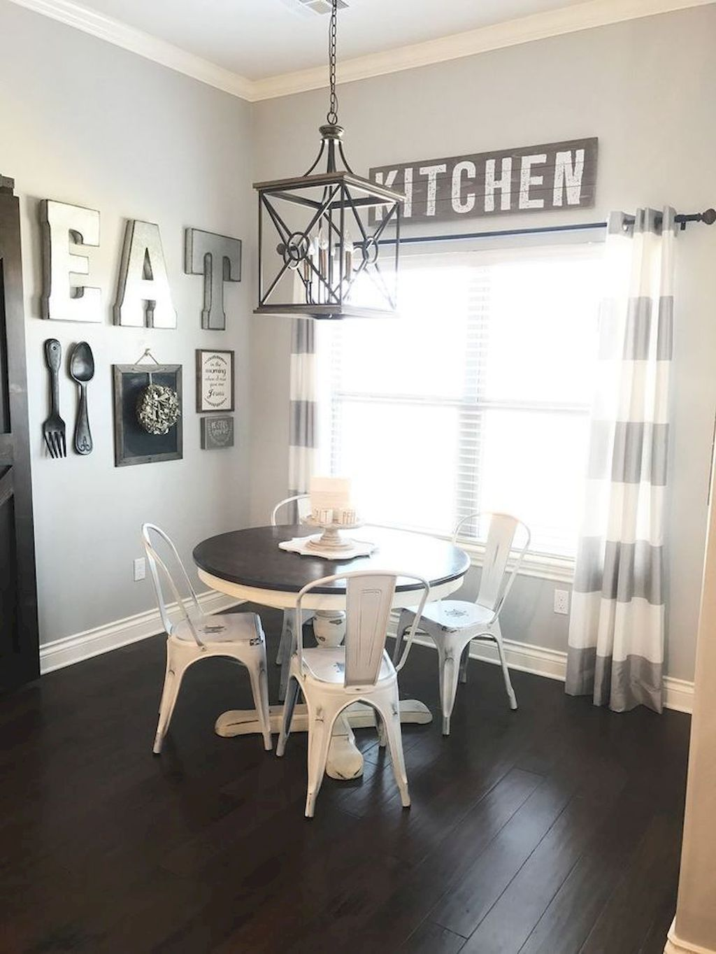 Small Dining Table and Decorative Pieces